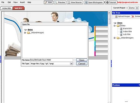 pagewizard online builder